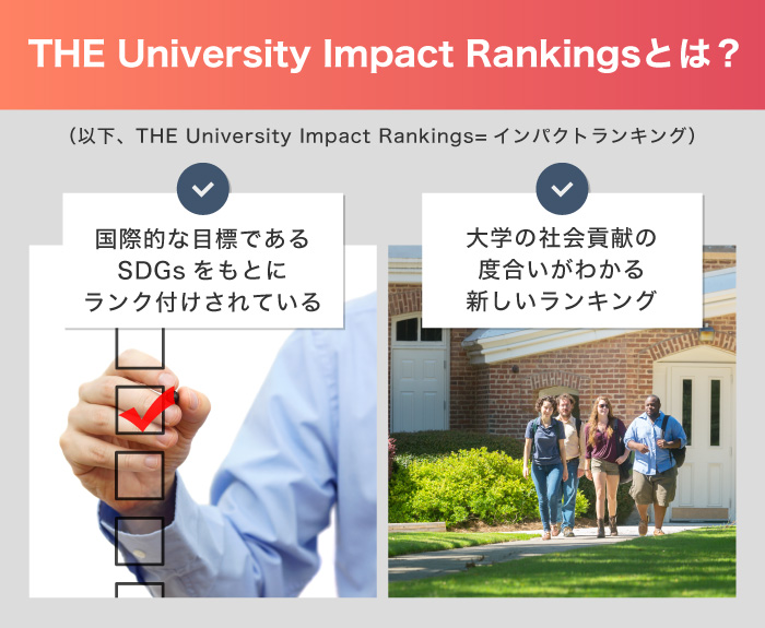 THE University Impact Rankingsとは?
